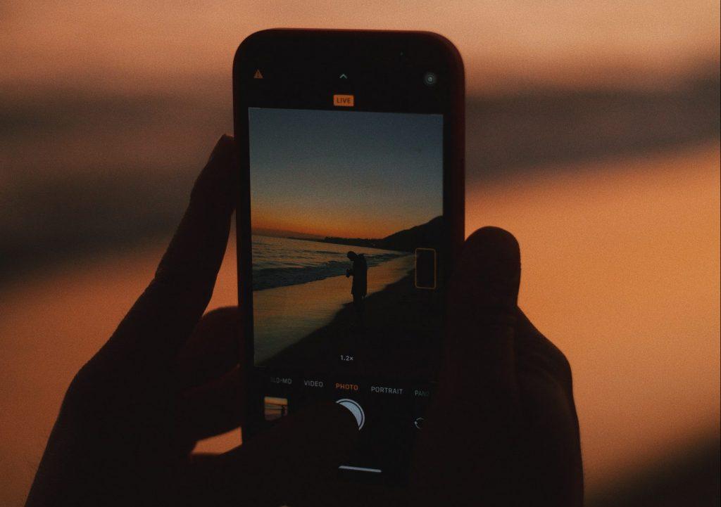 puesta de sol verano