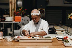 chef de sushi tojo